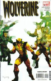 Wolverine #59 Suydam Zombies Cover Marvel comic book